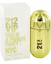 212 Vip For Women By Carolina Herrera Eau De Parfum Spray 1.7 Oz
