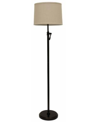 Decor Therapy Adjustable Floor Lamp, Brown