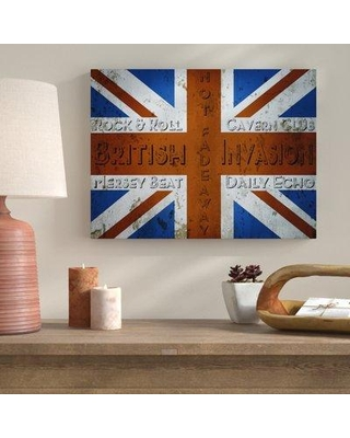 Bloomsbury Market Railey 'British Invasion' Graphic Art on Wrapped Canvas BLMS6815