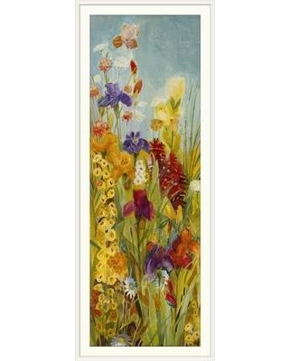 """Great Big Canvas 'Merriment I' by Jill Martin Painting Print 1311357 Size: 44"""" H x 20"""" W x 1"""" D Format: White Framed"""