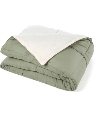 Find Big Savings On Three Posts Hitchens All Season Single Reversible Comforter Polyester Polyfill Polyester In Ivory Sage Size Twin Xl Comforter Wayfair