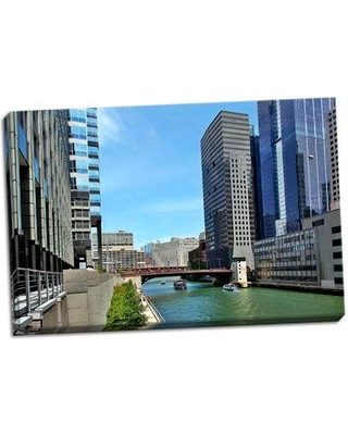 Ebern Designs 'Arch Tour Boats' Photographic Print on Wrapped Canvas BI053061