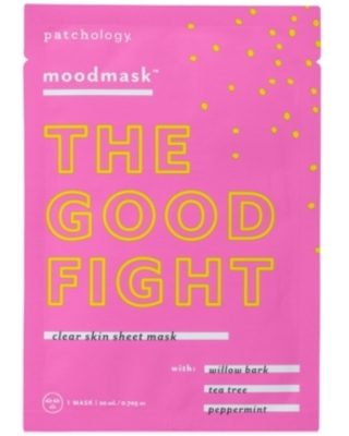 """Patchology Moodmask """"The Good Fight"""" Clear Skin Sheet Mask"""