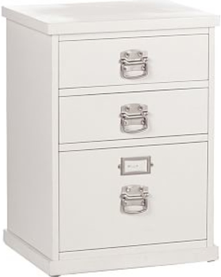 Fresh 3 Drawer Lateral File Cabinet Black