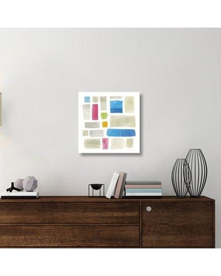 "East Urban Home 'Comares II' Graphic Art Print on Canvas UBAH5956 Size: 24"" H x 24"" W x 1.5"" D"