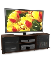 """Flat Panel TV Stand for TVs up to 64"""" Maple - CorLiving"""