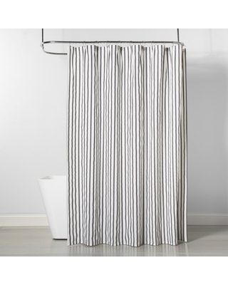 0d9dd3063b 4th of July Shopping Event: Stripe Shower Curtain Gray/White ...