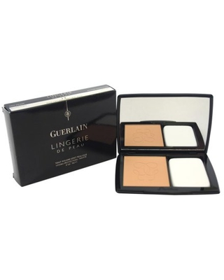 Guerlain Lingerie De Peau Nude Powder Foundation SPF 20 - # 13 Natural Rosy 0.35 oz Powder Foundation (Refillable)