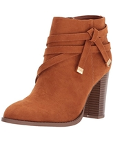 Athena Alexander Women's Renly Ankle Bootie, tan Suede, 8.5 M US