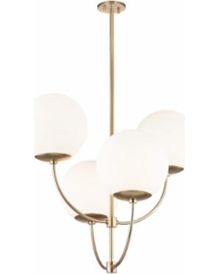 Mitzi Carrie 29 Inch 4 Light Chandelier - H160804-AGB