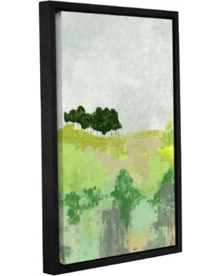 """Wrought Studio 'Trees' Framed Painting Print on Wrapped Canvas VKGL6570 Size: 12"""" H x 8"""" W x 2"""" D"""