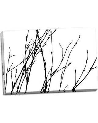 Millwood Pines 'Dancing Branches I' Graphic Art Print on Wrapped Canvas BI046669