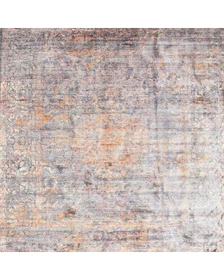 East Urban Home Contemporary Blue/Gray Area Rug X111851201 Rug Size: Rectangle 5' x 7'