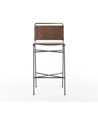 Swell Perkins Bar Stool Brown Pabps2019 Chair Design Images Pabps2019Com