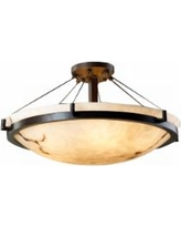 "LumenAria Collection Dakota Cable 20 1/2"" Wide Ceiling Light"