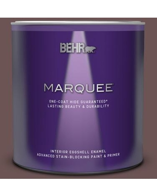 BEHR MARQUEE 1 qt. #720B-6 Beechwood Eggshell Enamel Interior Paint and Primer in One