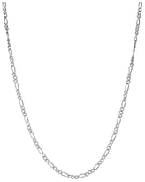 """""""Junior Jewels Kids' Sterling Silver Figaro Chain Necklace, Girl's, Size: 14"""", Grey"""""""