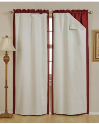 "Eclipse 54"" x 60"" Thermal Blackout Curtain Liner Set"