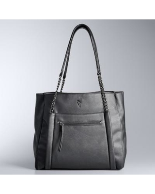 Simply Vera Vera Wang Rockbridge Tote, Women's, Black