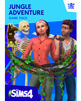 THE SIMS 4: Jungle Adventure, Electronic Arts, Xbox, [Digital Download]