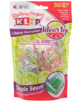 Assorted Colors Quilters Perfect Klips
