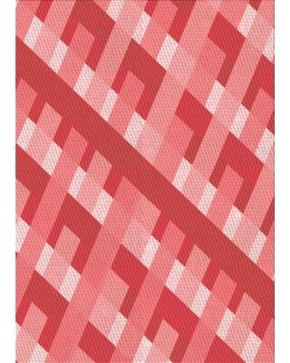 New Deal On Innis Abstract Wool Red Area Rug East Urban Home Rug Size Rectangle 2 X 5