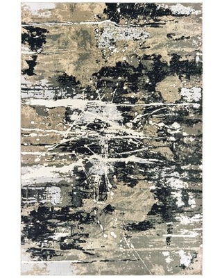 Avalon Home Brecken Hi-Low Textured Abstract Area Rug or Runner, Multiple Sizes