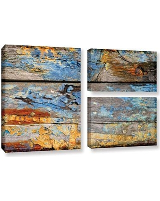 Loon Peak Painted Wood 1 3 Piece Photographic Print on Wrapped Canvas Set LNPK1572