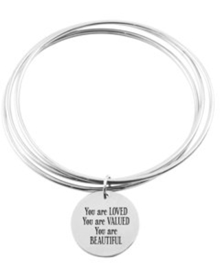 Three Layer Bangle - YOU ARE LOVED