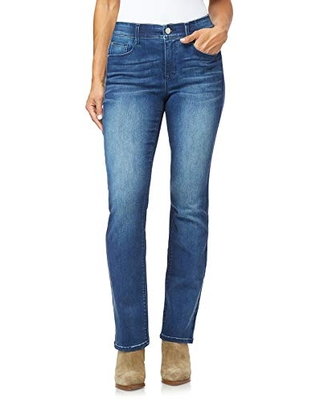 Angels Forever Young Women's 360 Sculpt Bootcut Jeans, Orchard, 16