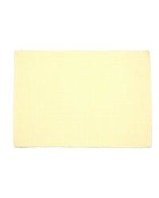 """Alcott Hill Pinkney Ribbed 19"""" Cotton Placemat W000709061 Color: Cream"""