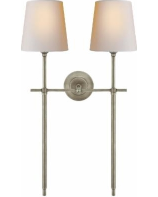 Visual Comfort and Co. Thomas O'Brien Bryant 26 Inch Wall Sconce - TOB 2025AN-NP