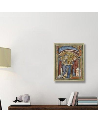 """East Urban Home 'The Virgin as a Maiden' Acrylic Painting Print on Canvas ETUC6328 Size: 28"""" H x 22"""" W x 1.5"""" D"""