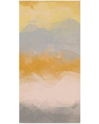 """Ebern Designs 'Color Fall I' Acrylic Painting Print on Wrapped Canvas W001236897 Size: 47"""" H x 24"""" W x 2"""" D"""
