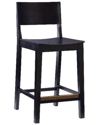 Devin Collection BS279BLK02AS Set of 2 Counter Stools in Black