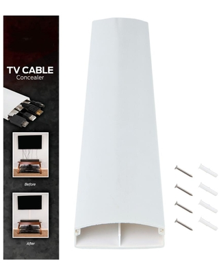 Stalwart 32 in. Wall Raceway Cable Management Kit