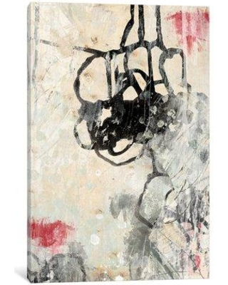 "East Urban Home 'Surface Tension I' Painting Print on Wrapped Canvas ESRB9535 Size: 26"" H x 18"" W x 0.75"" D"