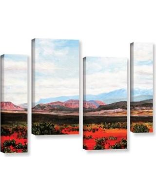 "Loon Peak Joyride 4 Piece Painting Print on Wrapped Canvas Set LOON8590 Size: 36"" H x 54"" W x 2"" D"