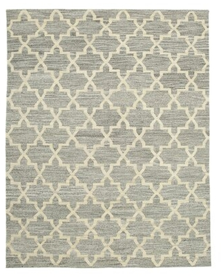 """One-of-a-Kind Jackaline 2010s 7'11"""" x 10' Area Rug in Gray"""