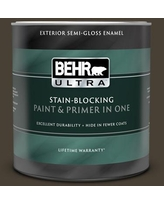 Huge Deal On Behr Ultra 1 Qt Ppu5 20 Sweet Molasses Flat Exterior Paint And Primer In One