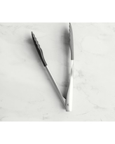 """Williams Sonoma Silicone Tipped Tongs, 12"""""""
