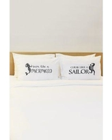 One Bella Casa 2 Piece Mermaid Sailor Pillowcase Set 75335CSE