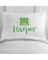 4 Wooden Shoes Personalized Frog Toddler Pillow Case WF-12-130