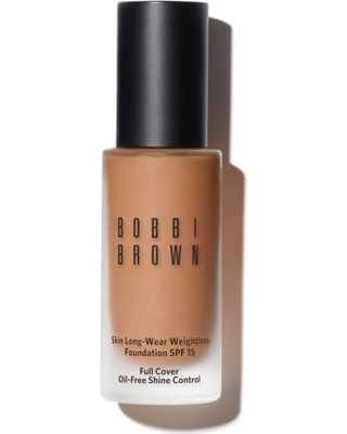 Bobbi Brown Skin Long-Wear Weightless Foundation Spf 15, Size 1 oz - W-068 Golden Honey
