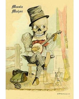 Buyenlarge 'Music Major' by F. Frusius M.D. Painting Print 0-587-15819-0