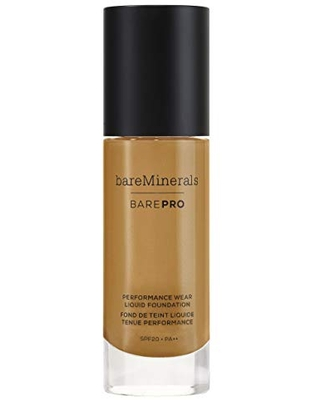 bareMinerals barePro Performance Wear Liquid Foundation SPF 20 - Golden Nude 13, 1.0 Ounce (098132492749)