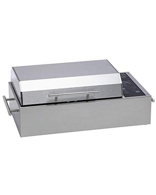 Kenyon B70590 Frontier Electric Grill, Silver