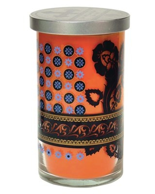Clementine Scented Jar Candle Acadian Candle