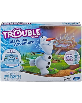 Olaf's Ice Adventure Trouble Game