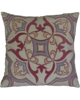 Darby Home Co Czapla Linen Throw Pillow DRBH6119
